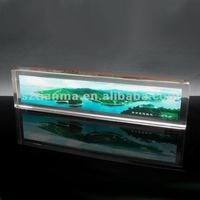 resin printed green scenery craft for indoor decoration