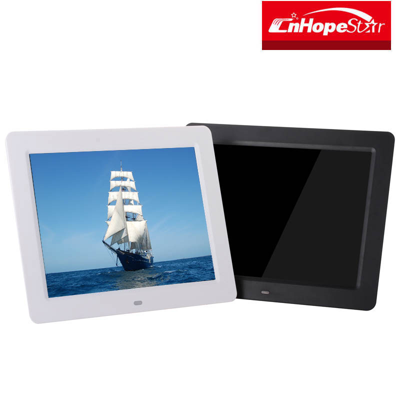 10.4 inch hd lcd digital photo frame for video audio picture play