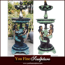 2017 Popular Best Price Bronze Mermaid fountain for sale
