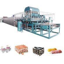 Waste paper egg crate making machine