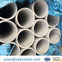 seamless stainless steel pipe astm a312 tp304 sch 80s dn150