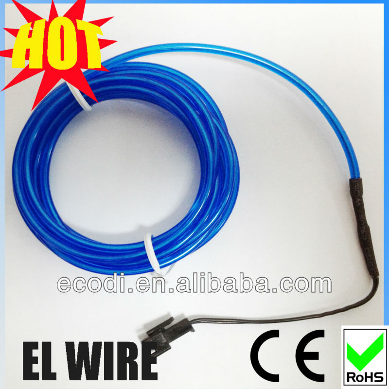 OFF !!! hight brightness ! waterproof electrical led cable/flashing el wire