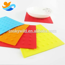 Heat Resistant Silicone Rubber Hot Pads / Pot Holder/ Trivet Mat /Placemat