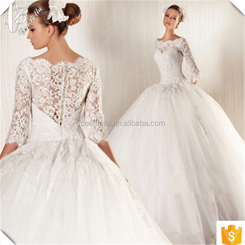 Custom Made Charming Formal Beach Wedding Dresses Lace Applique Robe De Mariage Online Shopping China