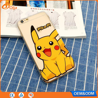 Cartoon new products 2016 used mobile phones case for iphone 6 case pokemon case