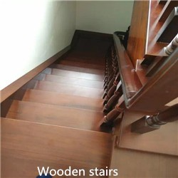 luxury for Villa natural African Padauk solid wood flooring