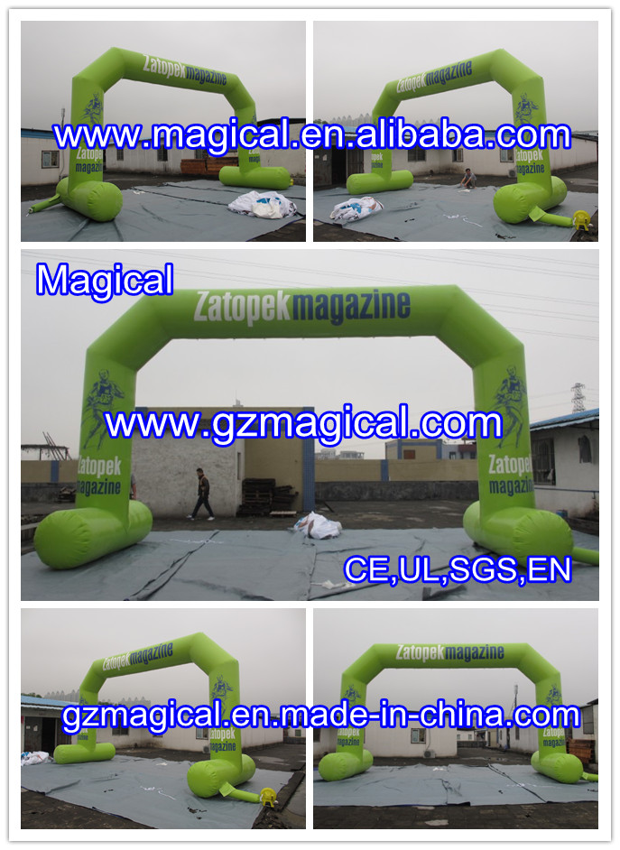 entrance birthday advertising event inflatable arch