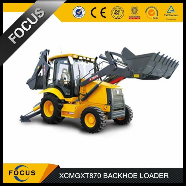 XCMG XT870 small garden tractor loader backhoe