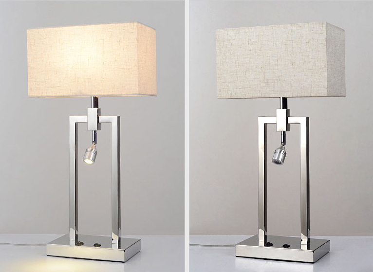 2018 CE approved Modern hotel gest room bedside Table lamp collection model No. WF-6153-1T