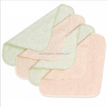 100% organic cotton solid color baby towel