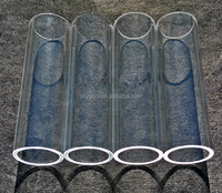 Different type 3.3 high borosilicate glass tubes