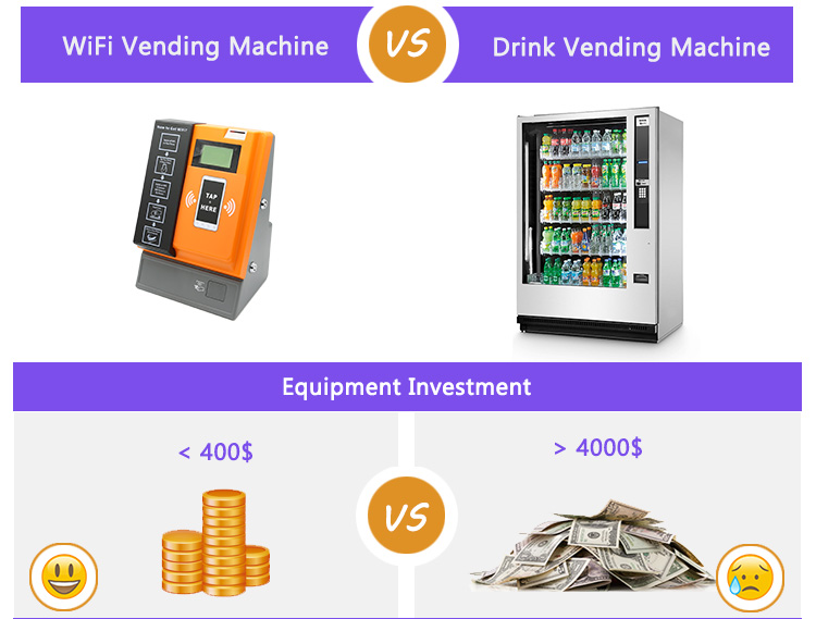 Tap Coin WiFi Vending Machine looking for exclusive distributor