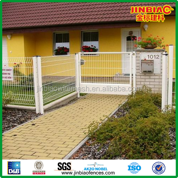 Composite Eco friendly fence panels pvc coated welded wire mesh fence