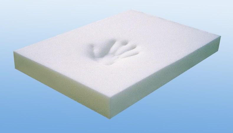 High Density Memory Foam Blocks Formattress Topper For