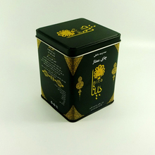 Factory wholesale square tea tin box packaging