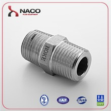 wholesale price hydraulic stainless steel pipe nipple