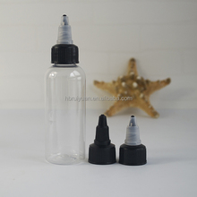 Trade assurance high quality 30ml 60ml 100ml 120ml empty plastic super pet glue bottle in Stock