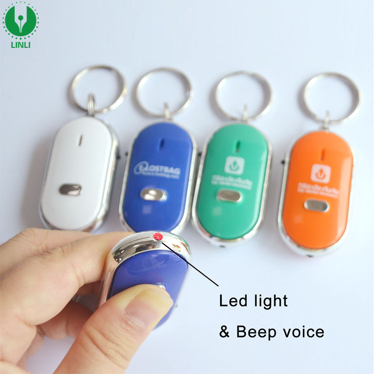 Cheap Advertising Led Anti-lost Whistle Key Finder