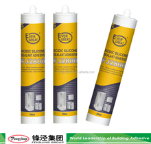 Acetic cure silicone sealant for aquarium with high density