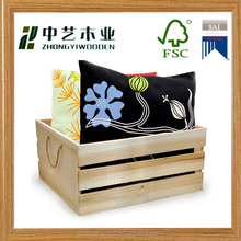 Trade assurance eco-friendly material customized wooden crate