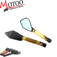 Motoo - RIZOMA Full Aluminum CNC motorcycle rearview Side mirror For Honda yamaha Kawasaki z750 Suzuki ducati
