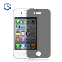 2.5D 9h Hardness Privacy Screen Protector Film/Guard for iPhone 4 Mobile Phone
