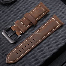 Commercial stainless steel connector Leather For apple Watch Band Strap Belt For apple Watch Standard / Sport / Edition 42mm