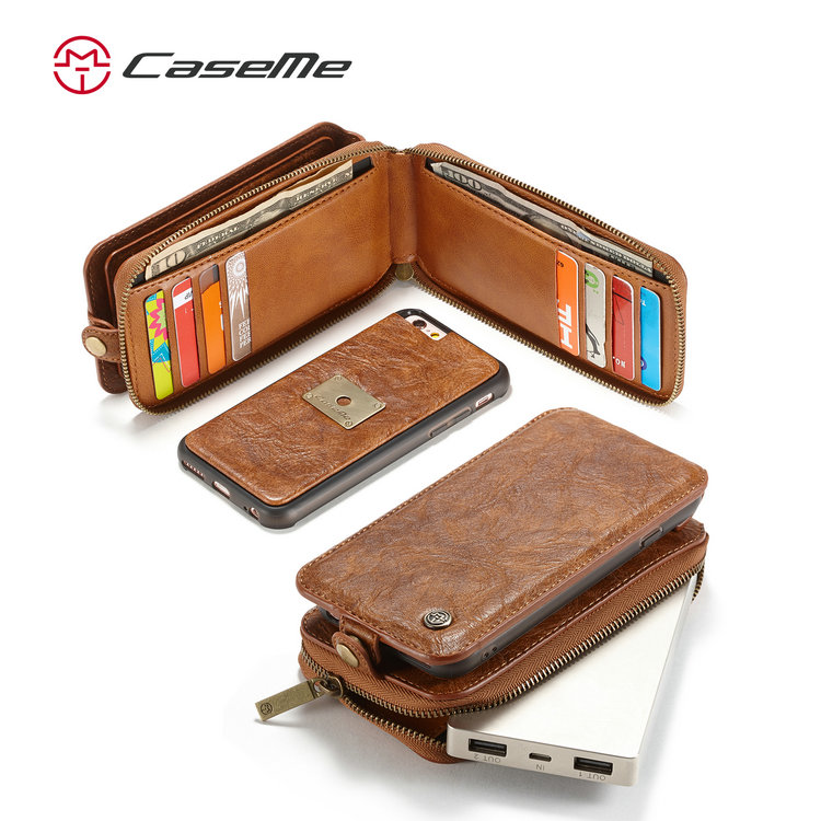 Removable Leather handy cover, smart phone cover for iphone 6