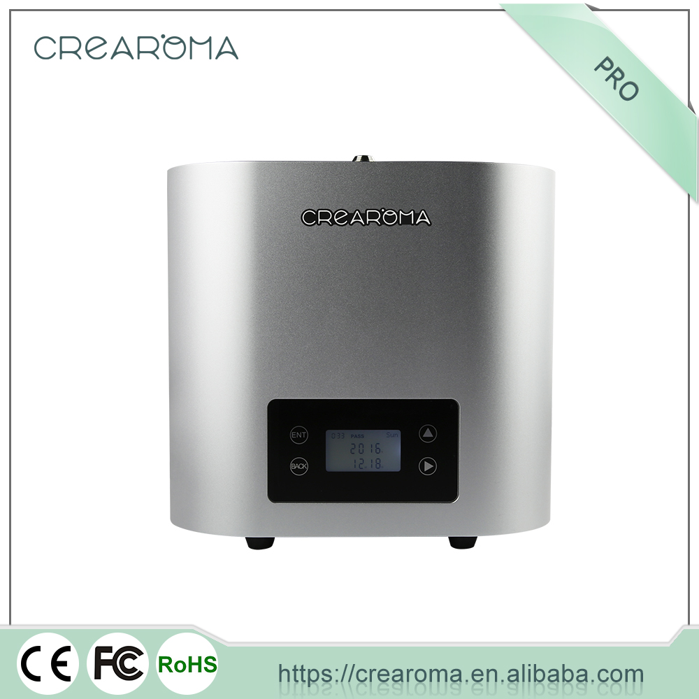 Commercial difusor de aroma fragrance dispenser system with fan for theatres