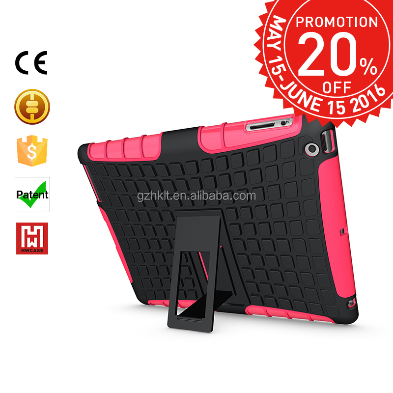 2016 Best Selling fashion Shock Resistant Armor Mobile Phone Cover Cases for ipad 3, Promotions month,