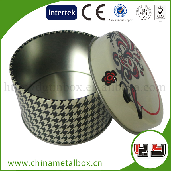 Chinese Custom Round Packaging Tea Box Small Product Packaging Box