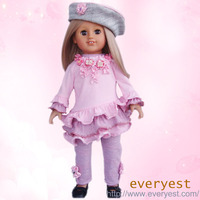 18 inch fashion big eye girl doll,kids fashion show dresses,little doll clothes latest dress designs for kids