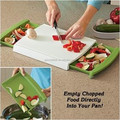 Cutting Board with storage