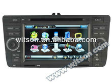 WITSON car audio gps dvd Octavia II with SD card for Music and Movie