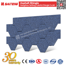 mosaic hexagonal villa roof asphalt shingles china