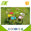 Kindergarten used kids wooden table and chairs