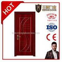 European style PVC membrane room doors