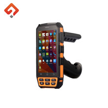 Android Bluetooth4.0 Handheld HF/UHF Rfid Reader micro usb barcode scanner
