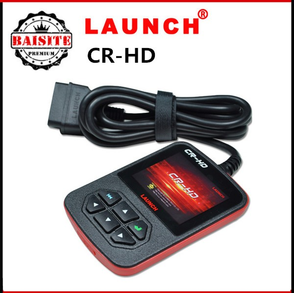 2016 New Arrival heavy duty diagnostic code scanner launch x431creader cr-hd Support J1939, and J1708 vehicle