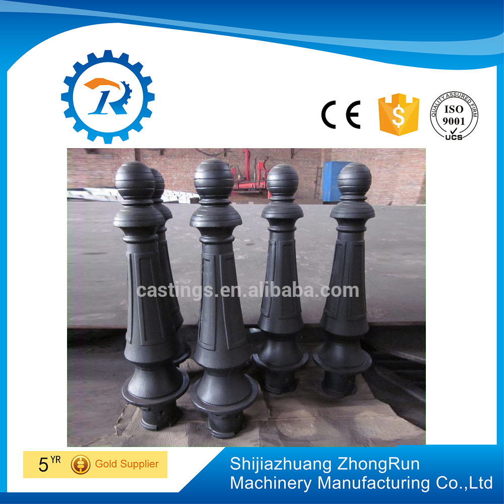 wholesales cast iron road stake bollards