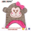 children cartoon pattern winter hat