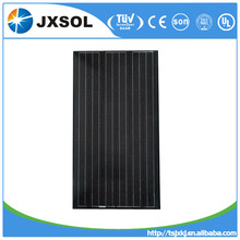 250W monocrystalline full black color solar panel/panel solar from China manufacturer