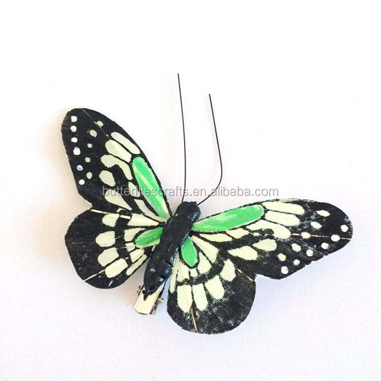 Fluttering butterflies for party decoration