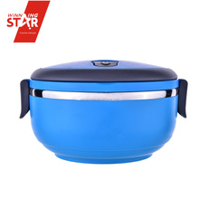 Winningstar one-layer electric heatable food keep warm plastic bento lunch box