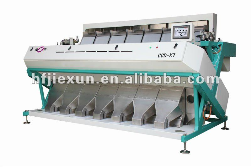 Intelligent brown rice color sorter/sticky rice color sorter/rice sorting machine