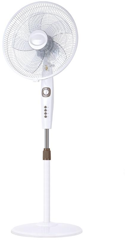 16 inch white color stand fan