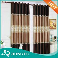 New Arrival Competitive price emboss jacquard fabric designs window curtain