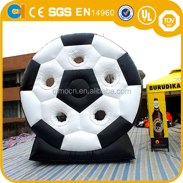13'H Fashionable dart board footble shooting board inflatable dart game/inflatable soccer darts