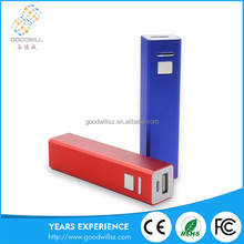 Hot china products wholesale Slim Power Bank For Smartphone with printing logo