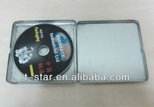 dvd tin case/single tin cd case